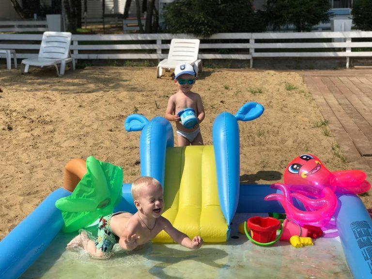 Отдых с детьми на пляже в Подмосковье   Пляжный комплекс «Бухта радости»