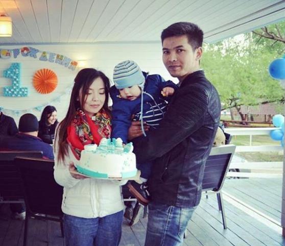 Празднование дня рождения - 1 год   Пляжный комплекс «Бухта радости»