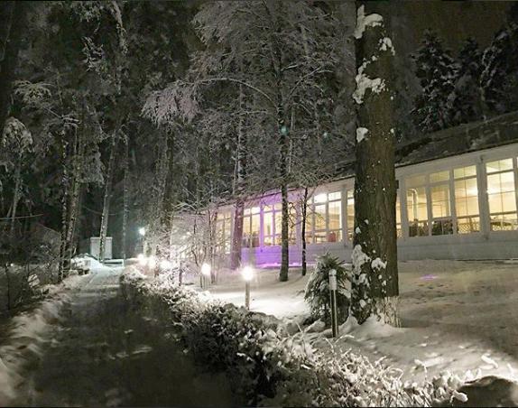 Зимний вечер в «Бухте радости»