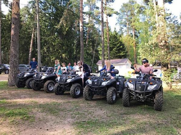 Организация корпоративов с прокатом квадроциклов в Подмосковье
